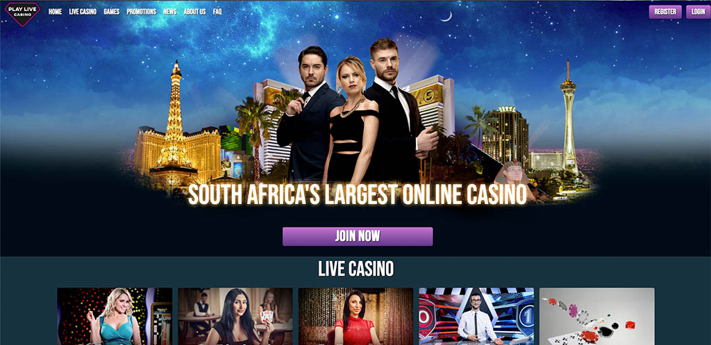 Online Play Live Casino