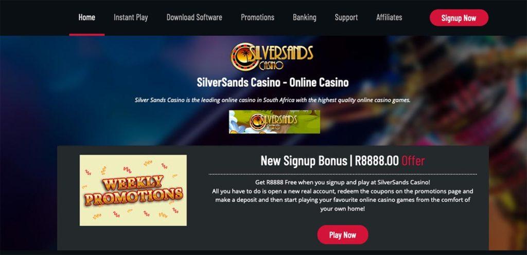 Online Silversands Casino