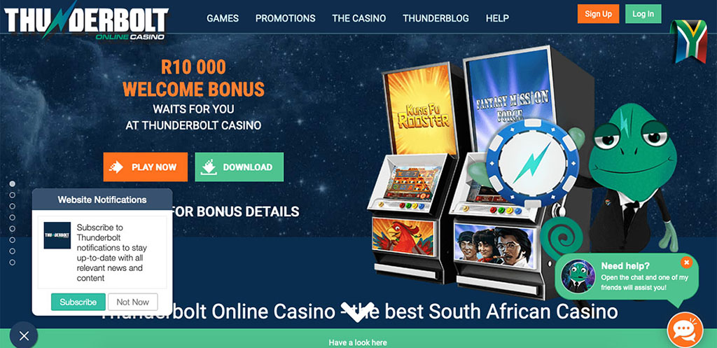 Thunderbolt Online Casino Review