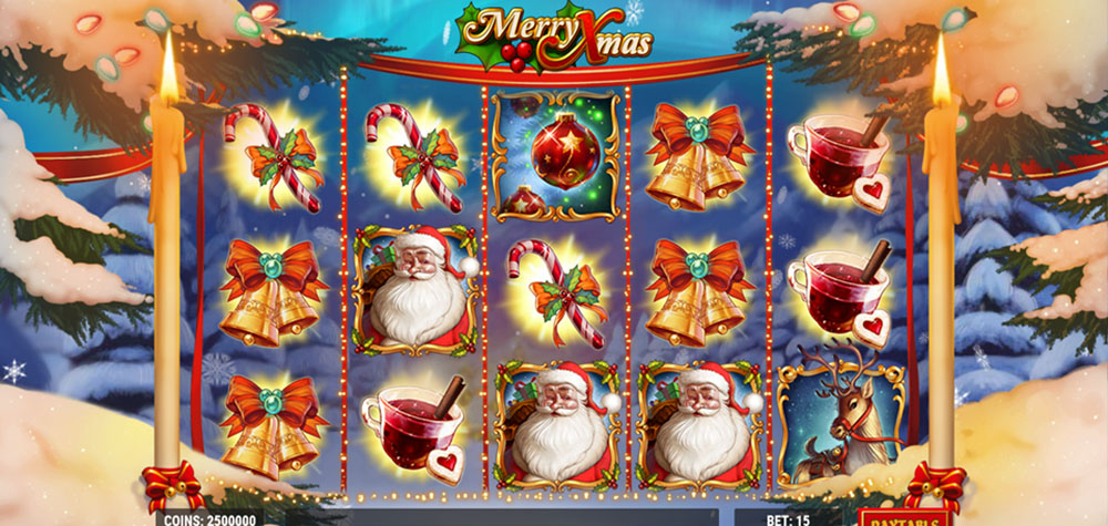 Christmas Slots Themes Online