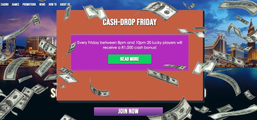 PlayLive CashDrop Friday™