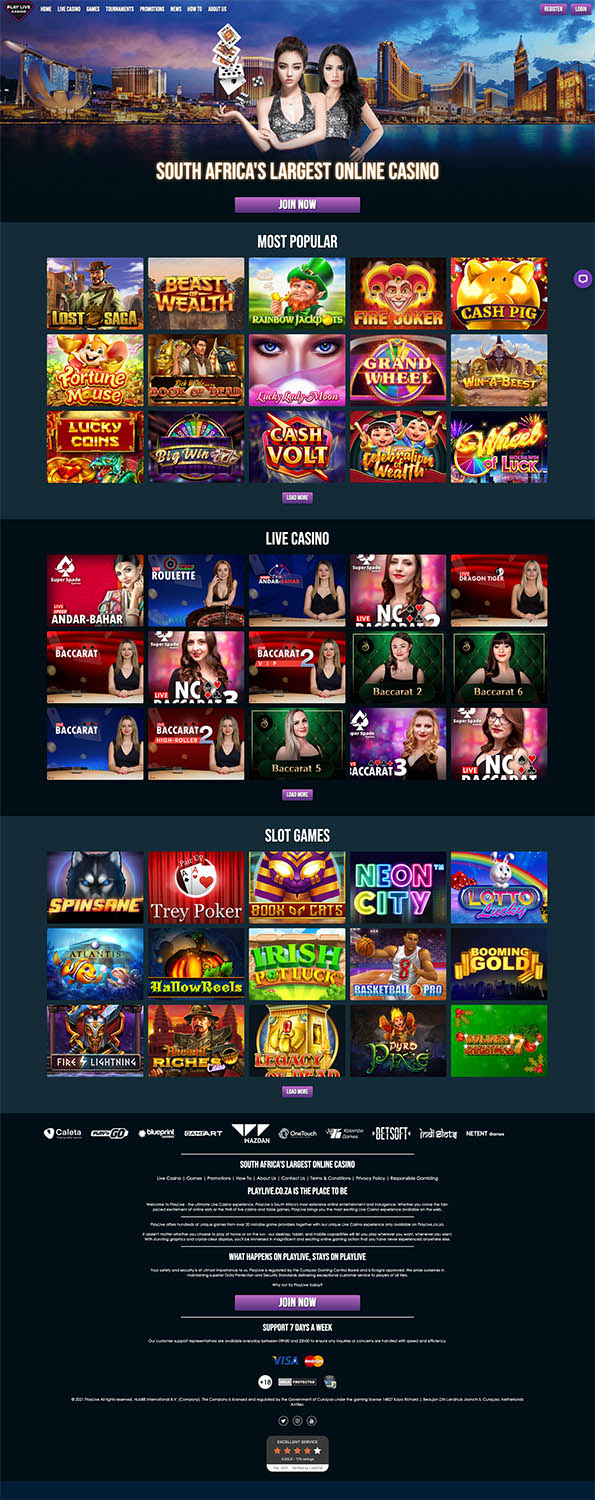 PlayLive casino review