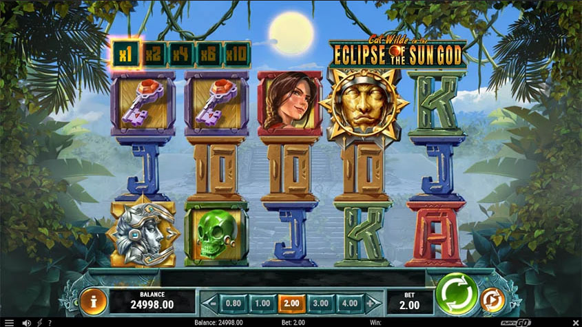 Cat Wilde in the Eclipse of the Sun God –Play'n GO