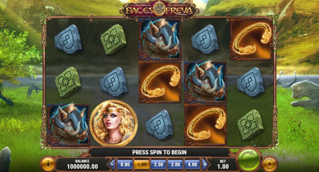 Th Faces of Freya – Play'n GO